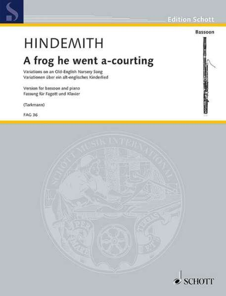 HINDEMITH A frog he went a-courting