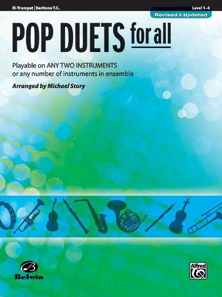 Pop Duets for All - Trumpet / Baritone