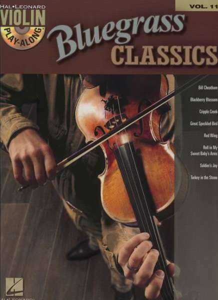 Violin Play-Along Vol. 11: Bluegrass Classics
